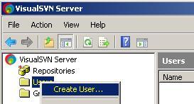 Создание нового пользователя